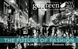 GoGreen NYC | Future of Fashion